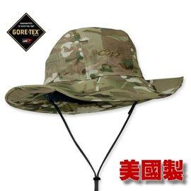 【美國 Outdoor Research】限量版 GORE-TEX 大盤帽子.圓盤帽.牛仔帽.100%防水透氣.排汗 保暖防風/ OR243506 軍規迷彩