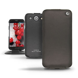 LG Optimus G PRO E988 下掀式皮套  保護套 手機套  手工訂製  法國NOREVE頂級手機皮套  客製化 腰掛皮套 專賣店