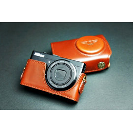 ^~DGmate 碼頭^~ TP ~Nikon P300   相機皮套~相容 復古真皮 二