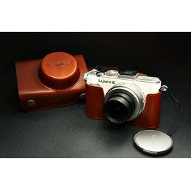 ^~DGmate 碼頭^~ TP ~Panasonic LX5  相機皮套~相容 復古真皮