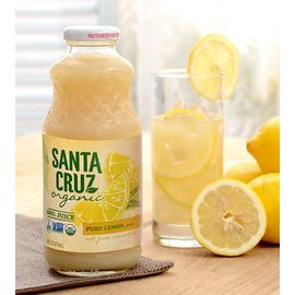 Santa Cruz 有機檸檬汁473毫升 瓶^~有效期限至:2017 07 11^~