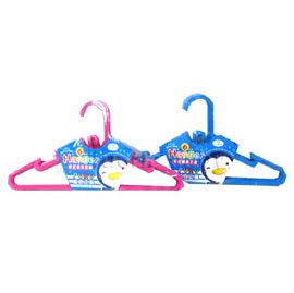 PUKU藍色企鵝 彩虹糖果衣架6入(P30802)