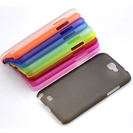 (透明款) samsung N7100 Note2  超薄磨砂殼/手機殼/保護套/外殼/保護殼
