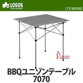 探險家戶外用品㊣NO.73186500 日本品牌LOGOS BBQ7070烤爐捲桌 (蛋捲桌 折合桌 圍爐桌 料理桌