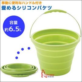 探險家戶外用品㊣NO.81285035 日本品牌LOGOS 伸縮水桶6.5L (冰桶 飲料冰筒 水箱 園遊會 水袋