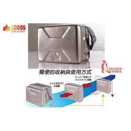 探險家戶外用品㊣NO.81670090 日本品牌LOGOS 斷熱海霸超動箱XL(約40L) 保冷袋/摺疊行動冰箱