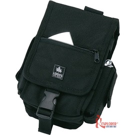 探險家戶外用品㊣NO.88220050 日本品牌LOGOS HIP CARGO NO.5黑 隨身腰包 附鉤環 工具包