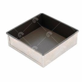 【艾佳】SN5133-10吋固定方型蛋糕模(不沾)/個