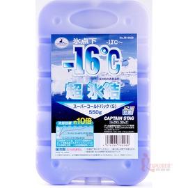 探險家戶外用品㊣M-6928 CAPTAIN STAG 日本鹿牌抗菌超凍媒-16度C冰磚保冷磚(中)550g日本製