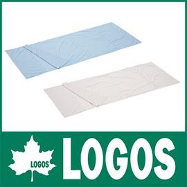 探險家戶外用品㊣NO.72600320 日本品牌LOGOS 絲綢睡袋內套-藍
