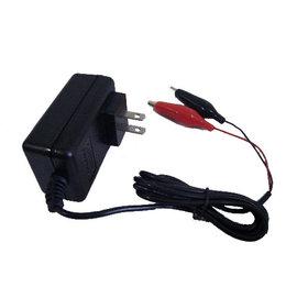 6V~2A 鉛酸電池 全自動充 電子式  具充電指示燈  帶短路 反接保護 自動斷電 機車