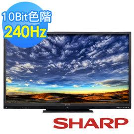 SHARP 夏普 60吋 LC~60LE666AT 240倍速連網 3D LED 液晶電視