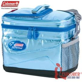 探險家戶外用品㊣CM-3439美國Coleman 5L極冷保冷袋 冰箱/保冷磚/冰磚/抗菌凍媒/冰筒/保冷箱