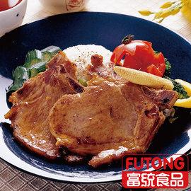 ~富統食品~烤肉趣 ~ 黑胡椒帶骨肉排 ^(500g 盒;約7片^)