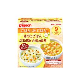 貝親 PIGEON 香菇飯&蘿蔔煮肉 (P13528)(日本製)