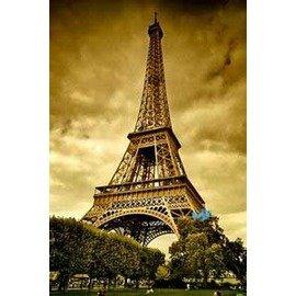 印象巴黎 艾菲爾鐵塔鑰匙圈
