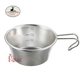 探險家戶外用品㊣M-5515 CAPTAIN STAG 日本鹿牌 燕三條不鏽鋼杯210ML 日本製  廚具 鍋具