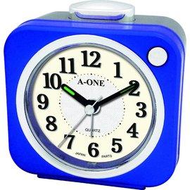 ^~時間伙伴^~^~免 ^~ A~ONE 品牌 方形富寶跳秒機芯 超大鈴聲貪睡鬧鐘^~TG