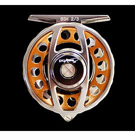 ◎百有釣具◎太平洋Pokee   鋁合金變速前打輪BSH2/3 (有煞車) ~超值價 加贈碳纖 線一捲