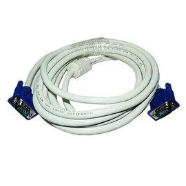 (3+4芯) VGA 公對公 雙磁環 液晶電視/投影機 數據線/傳輸線/轉接線 (5米/5公尺)