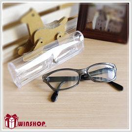 【winshop】B1606 透明軟式眼鏡盒/果凍眼鏡盒/太陽眼鏡收納盒/老花眼鏡盒