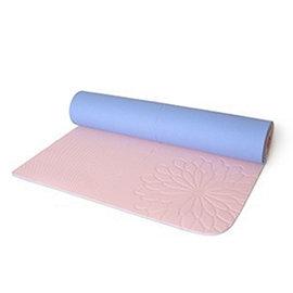 easyoga瑜珈用品~ 加長型雙色環保瑜珈墊~酒紅 粉紫新到貨!