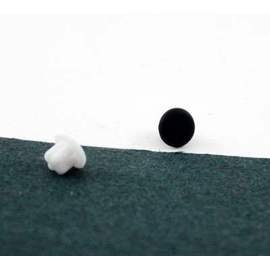 5組GPLUS GN878 3.5mm音源孔耳機防塵保護塞 有黑白2色可選