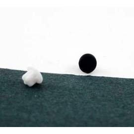5組GPLUS N809  3.5mm音源孔耳機防塵保護塞 有黑白2色可選