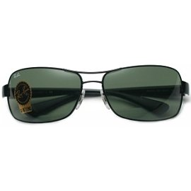 RayBan雷朋 太陽眼鏡框專櫃正品 復古金屬墨鏡RB3379 002