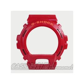 CASIO 時計屋_G~SHOCK_~700元錶框區~DW~6900CB 錶框_紅款_開發