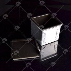 【艾佳】SN2179-正方型土司盒(不沾)/組