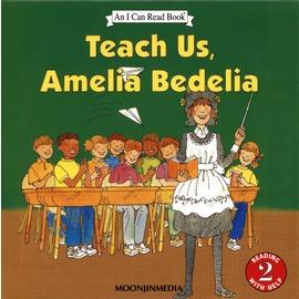 【老麥外文】〈小熊媽 書單〉TEACH US AMELIA BEDELIA L2  單CD