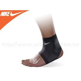 ≡排汗專家≡【94290217】NIKE PRO COMBAT 護踝套-黑銀-M/L(單個 短型 跑步籃球 超彈性
