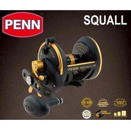 ◎百有釣具◎美國PENN SQUALL  SQL15 船釣 強力鼓式鐵板捲線器 ~送8鼓編織五色PE線 200M