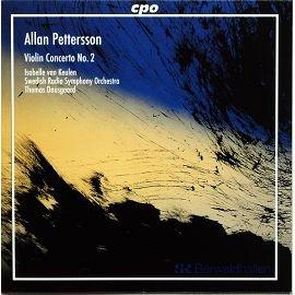 CPO 777199 阿倫彼得森小提琴協奏曲 Allan Pettersson Violi