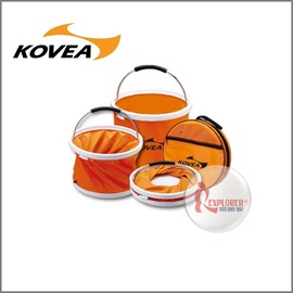 探險家戶外用品㊣KD-1002韓國KOVEA 萬用水桶13L單個販售 (冰桶 飲料冰筒 水箱 水袋
