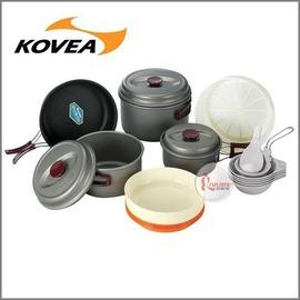 探險家戶外用品㊣KSK-WH56韓國KOVEA 露營家庭鍋具組(5-6人) (套鍋具組/餐碗/碗盤/露營/野炊