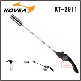 探險家戶外用品㊣KT-2911韓國KOVEA巨炮360度卡式高山雙頭噴槍(附轉接頭)火槍/噴燈/焚火/烤肉