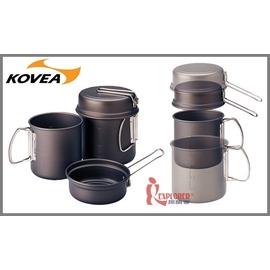探險家戶外用品㊣VKK-ES01韓國KOVEA 背包客鍋具組(附收納袋)套鍋具組/餐碗/碗盤/露營/野炊