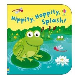 英國 ~UsBorne~幼兒認知洗澡書 ~ 青蛙們