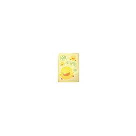 寶寶魚滴店^~黃色小鴨印花童毯 送一個小鴨 提袋