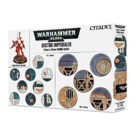 Games Workshop Warhammer 40000 戰鎚~底板包~帝國市街圓底板