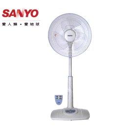 ◆100^%  ◆ SANYO 三洋 14吋微電腦遙控 定時立扇 EF~148TPR ^~