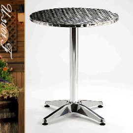 60CM鋁製圓桌(鋁全包邊) P020-U-3001F 圓茶几.置物桌.洽談桌.餐桌子.休閒桌.庭園桌.傢俱家具傢具特賣會