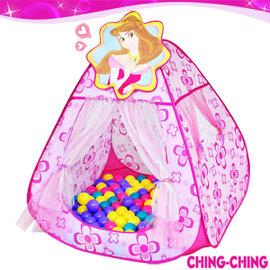 甜蜜公主帳篷+100球P072-CBH-13兒童遊戲帳棚.帳蓬.折疊遊戲球屋.球池.遊戲池.彩色塑膠軟球.ST安全玩具.兒童玩具)