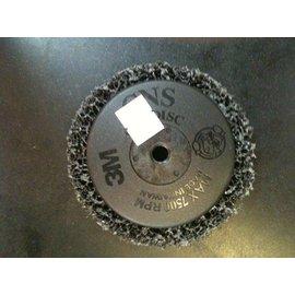 台北 益昌建材   3M 製 貨 研磨 黑輪 黑色研磨絨盤 3M 高彈性 黑金剛黑輪 去�