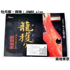 ~築地東京~~牡丹蝦,規格:JUMBO size,數量:15~20隻 盒~