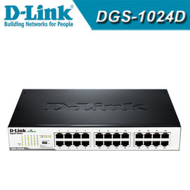 D~Link 友訊 DGS~1024D 24埠 Gigabit 節能型 器