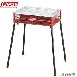 ^~ Coleman ^~ 兩段式輕量烤肉箱 紅  BBQ  折疊式烤肉爐  爐具  燒烤