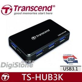 ~免 ~贈SD收納盒~創見 HUB 4~Port USB3.0 集線器 可 充電 ^(黑^